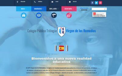Una nueva web para el Colegio Virgen de los Remedios