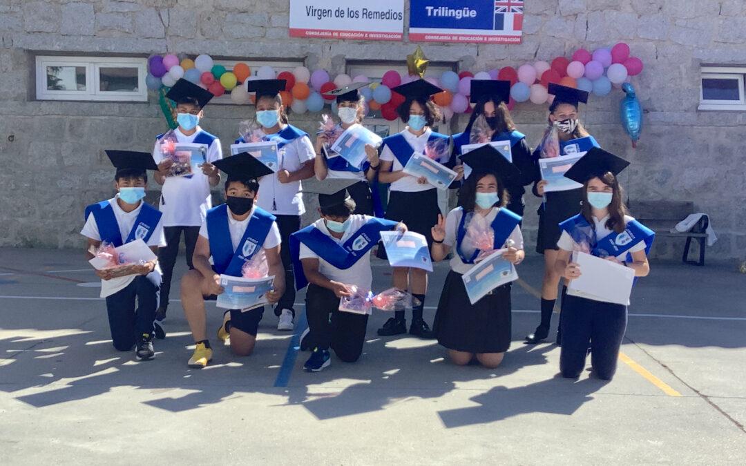 Graduación de alumnos de 5º y 6º de Primaria